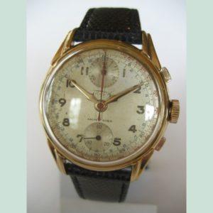 Man's wrist chrono-watch 1950