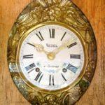 Spruce grandfather clock