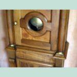 Restoration walnut clock