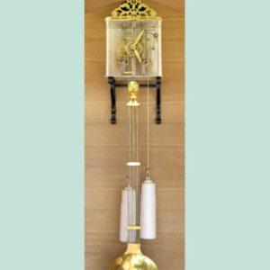 1860 Skeleton Clock
